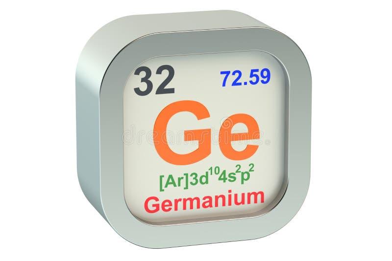 Germanium stock illustration
