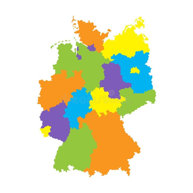 germany översikt color dräkten för leenden för kanin för flickaillustrationen den älskvärda vit vektor illustrationer
