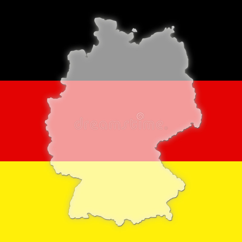 Download Germany stock illustration. Image of flag, country, illustration - 5057347