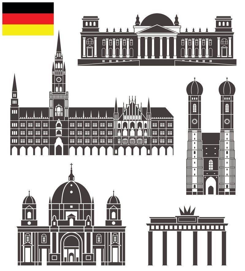 germany ilustração stock