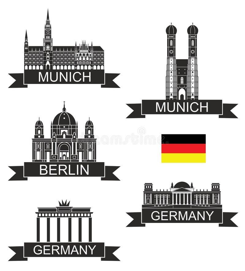 germany ilustração do vetor