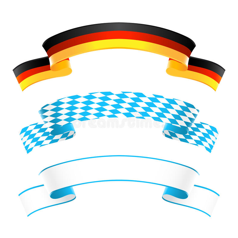 Download Germany And Bavaria Banners Stock Vector - Illustration: 32935050