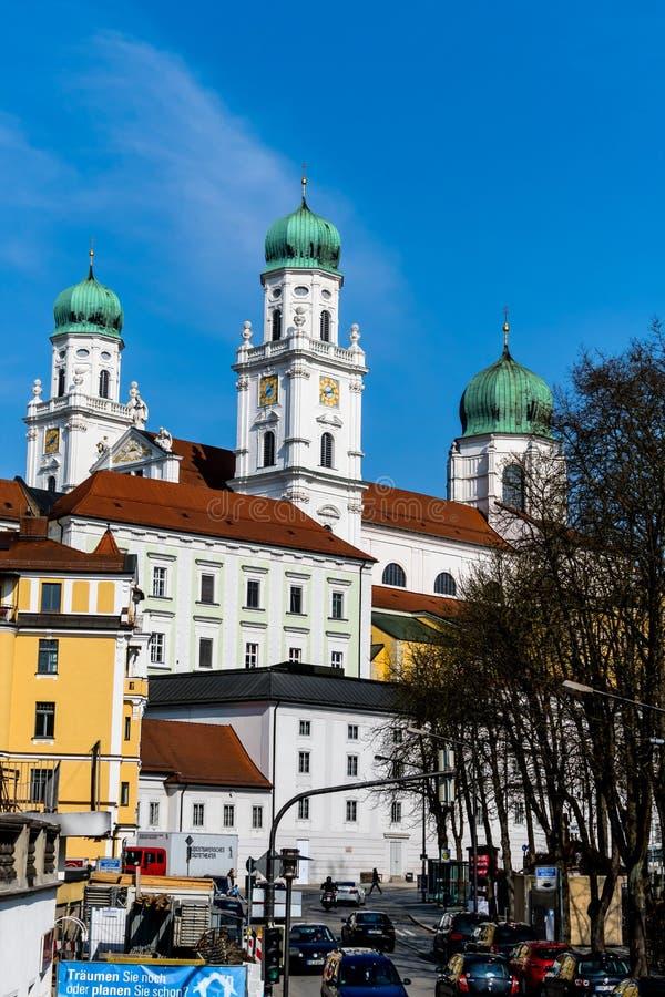 Germany, bavaria, passau stock photography