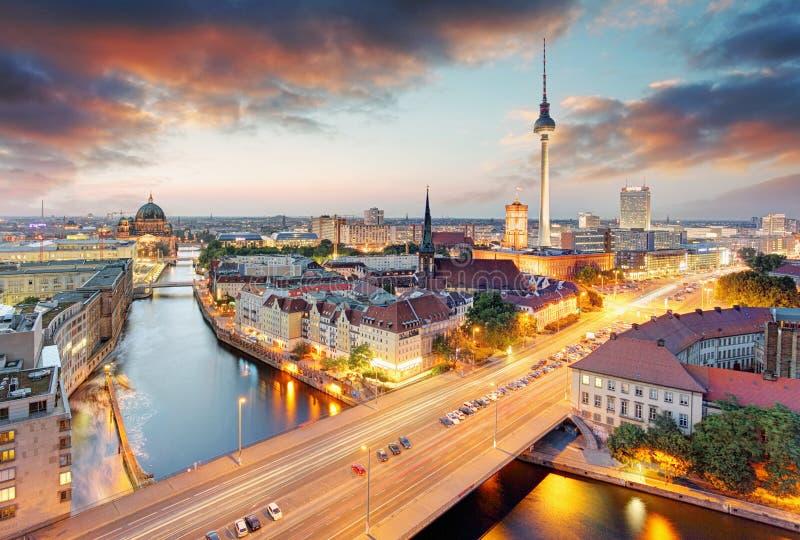 Germany, Berlin cityscape stock photo