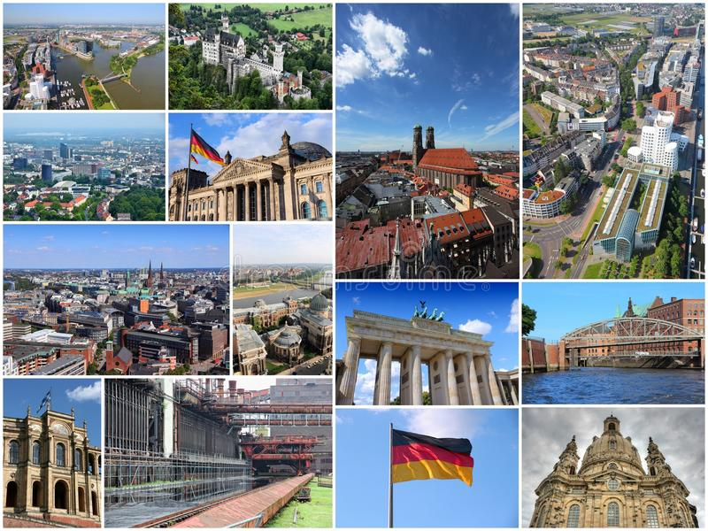 Germany collage stock image Image of collage attraction 63698377
