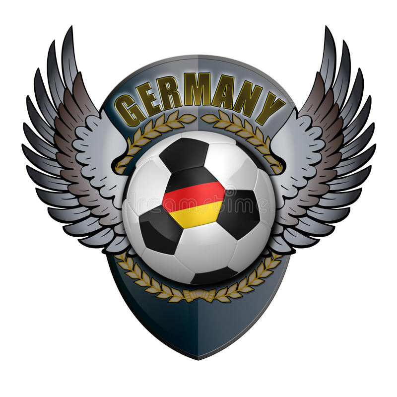 Germany Crest Royalty Free Stock Photo