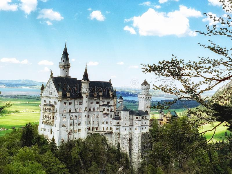 Germany. A Disney castle royalty free stock image