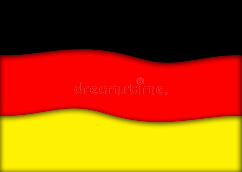 Download Germany flag stock illustration. Illustration of travel - 468482
