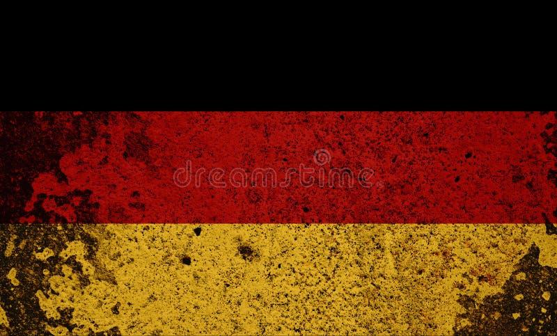 Germany Flag royalty free illustration