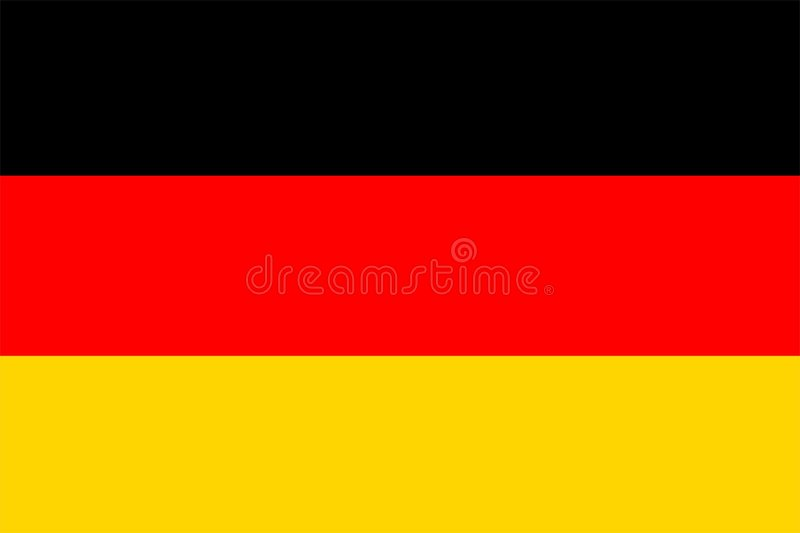 Download Germany Flag stock illustration. Illustration of patriotism - 7697262