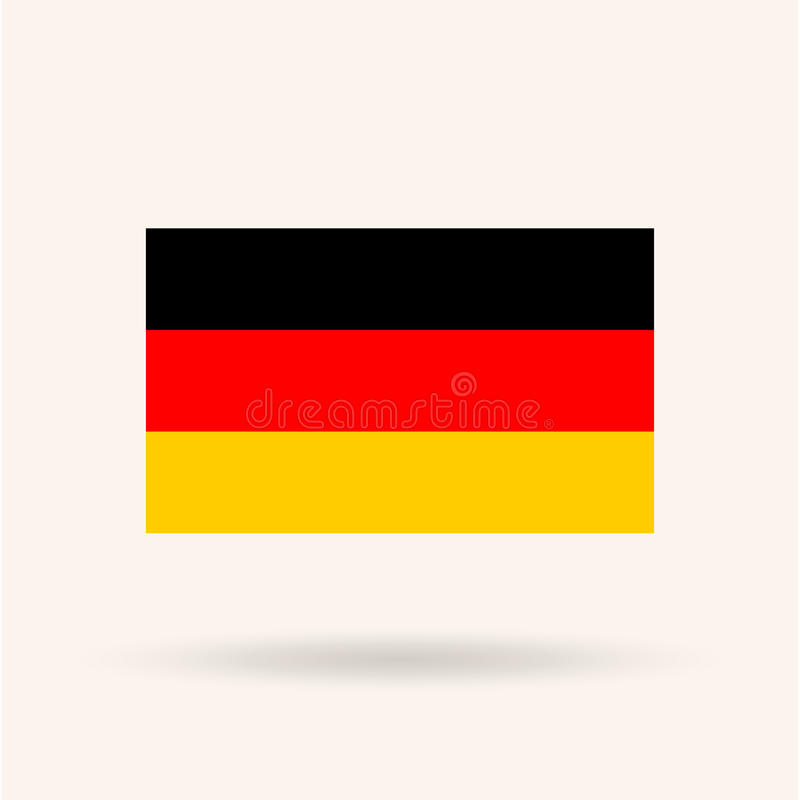 Germany Flag vector illustration