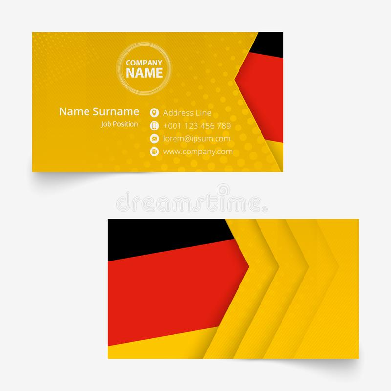 Phone With GERMANY Flag Illustration Design Stock