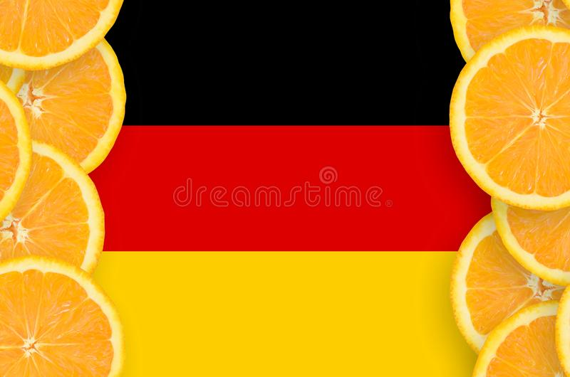 Germany Flag Printed On A Polyester Nylon Sportswear Mesh