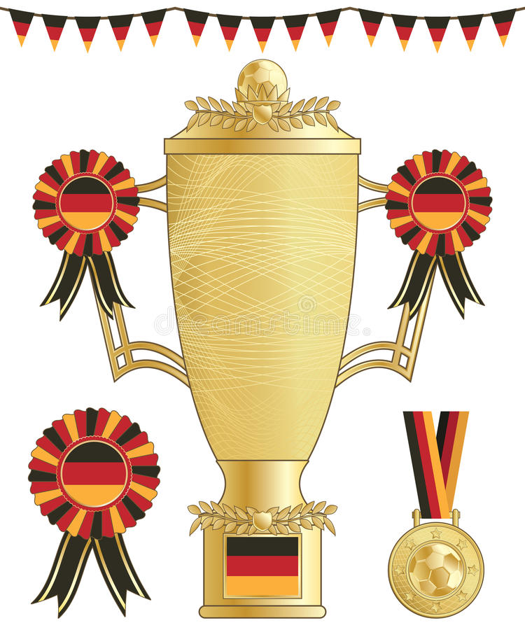 Download Germany Football Trophy Stock Images - Image: 24755544