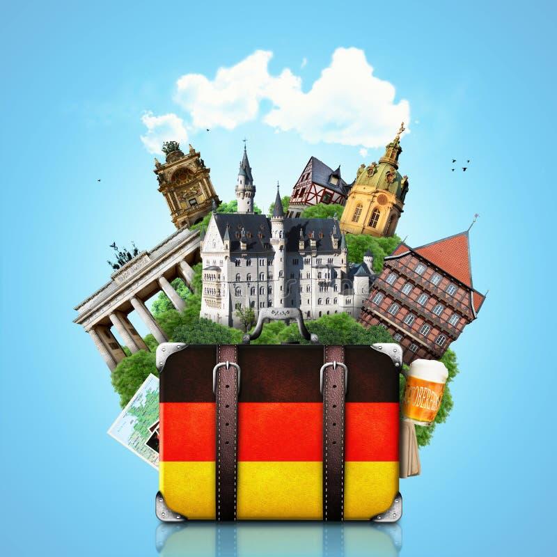 I Want To Visit Germany In German: Germany, German Landmarks, Travel Stock Image