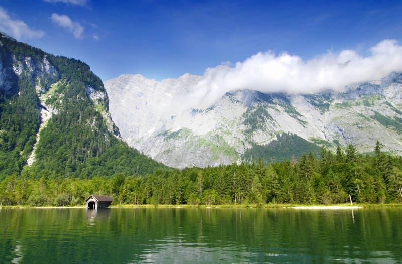 germany lake royaltyfri fotografi