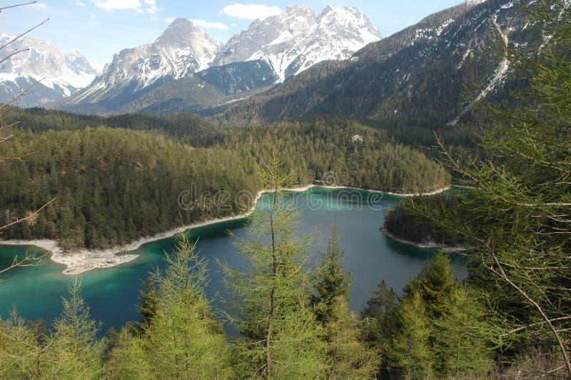 germany lake arkivfoton