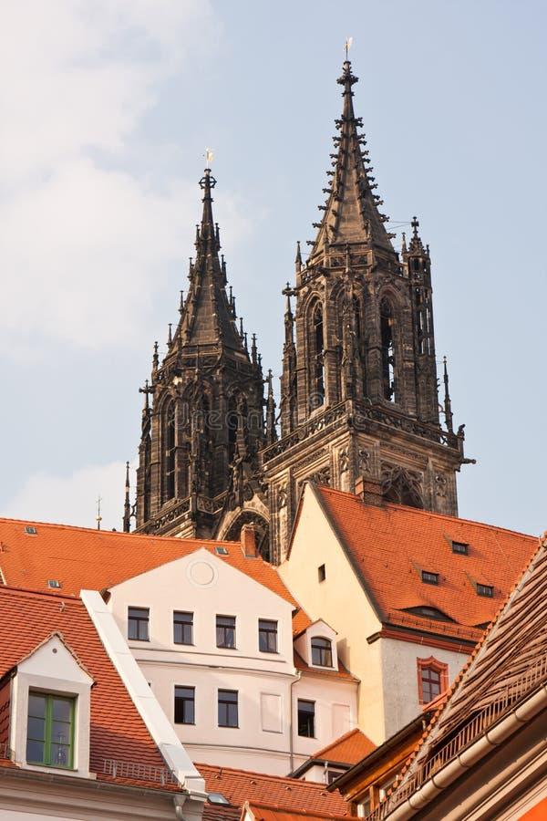 Download Germany meissen fotografering för bildbyråer. Bild av domkyrka - 19798195