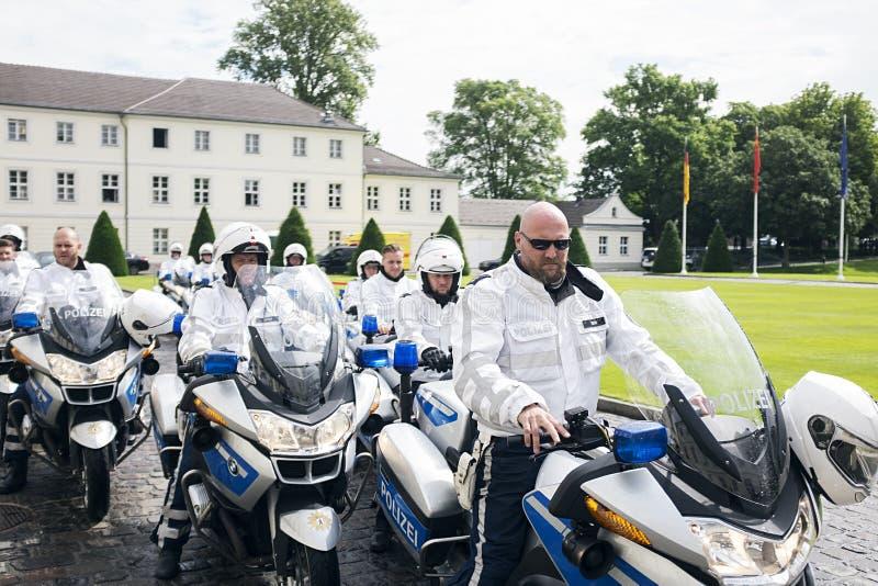 Germany Motorcade stock images