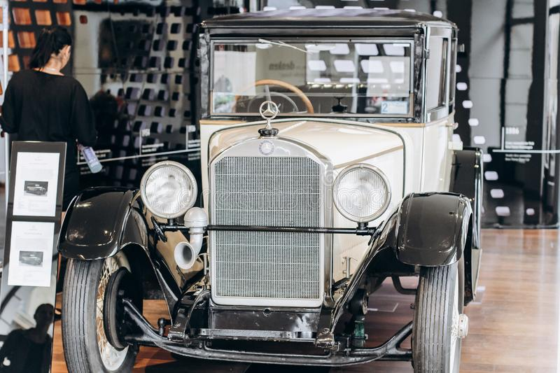 Germany, Munich - September 01, 2013. Mercedes-Benz 170S Cabrio A royalty free stock photo