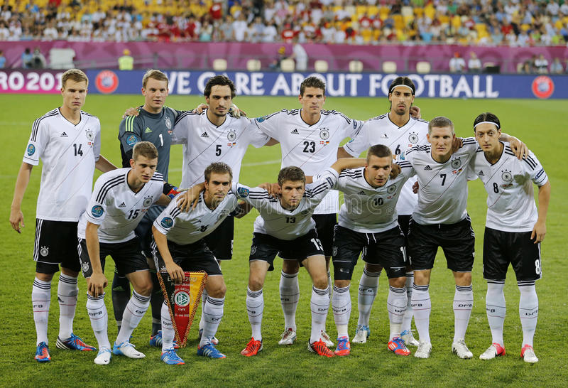 Germany national football team royalty free stock photography
