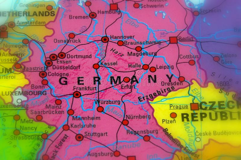 Germany, officially the Federal Republic of Germany. Selective Focus stock photos