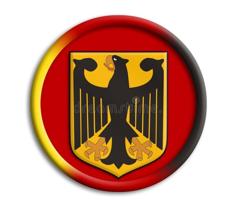 germany olympics shield иллюстрация вектора