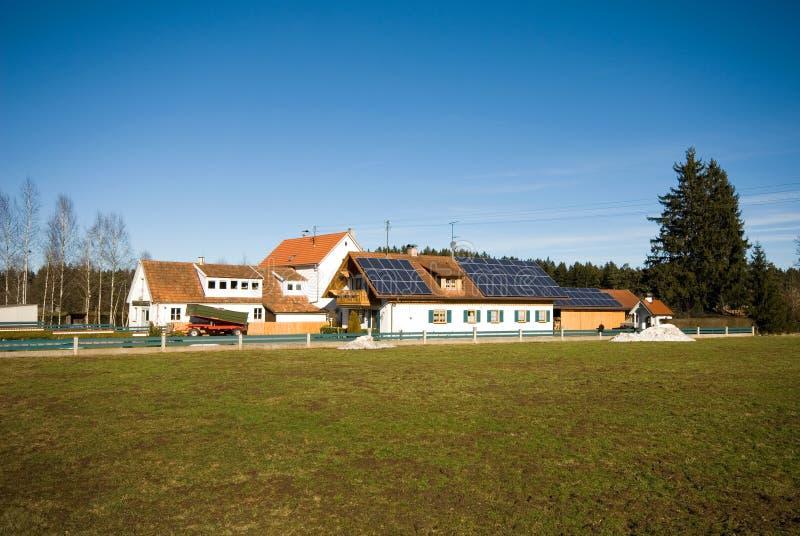 germany rolni domy zdjęcia stock