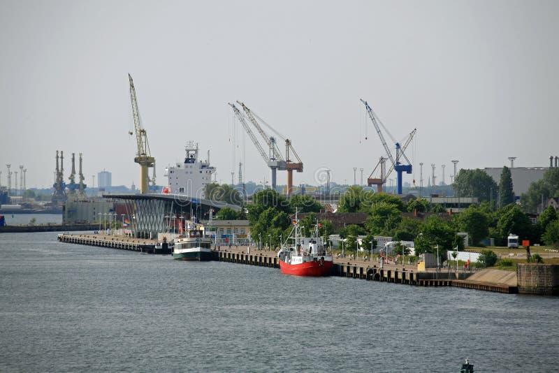 germany Rostock obraz stock