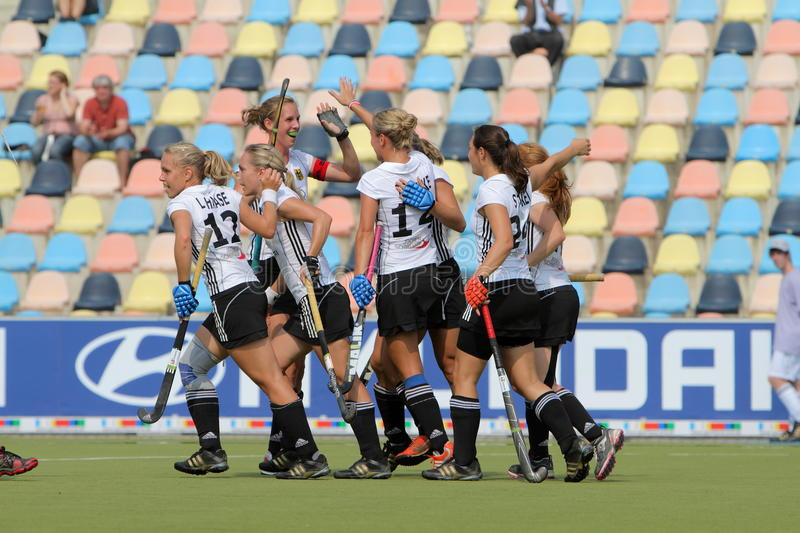 Download Germany V Belgium.Hockey European Cup Germany 2011 Editorial Image - Image: 20851940
