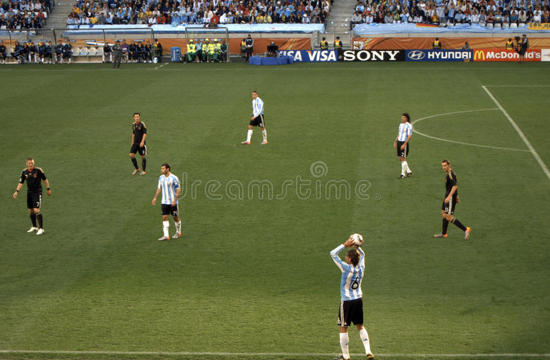 Download Germany vs Argentina editorial stock image. Image of argentina - 15002664