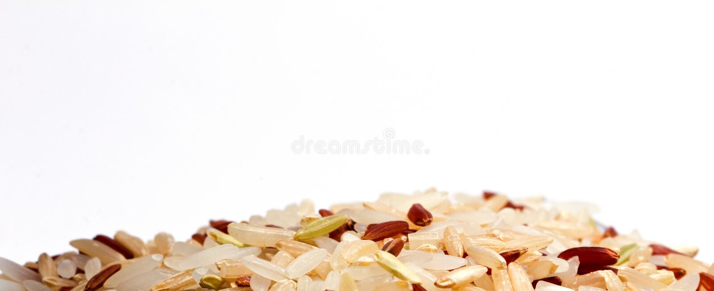 Germen del arroz fotos de archivo