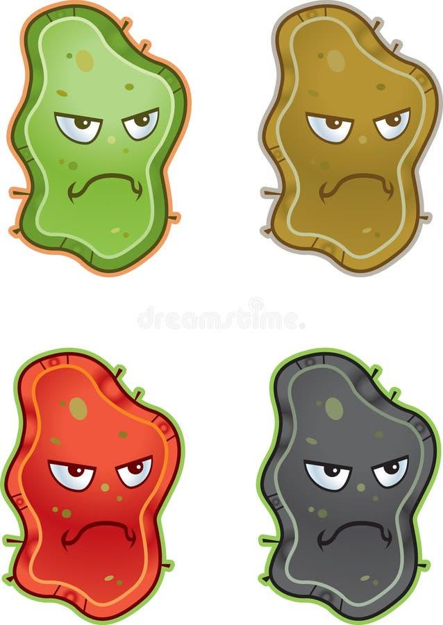 Germes illustration de vecteur