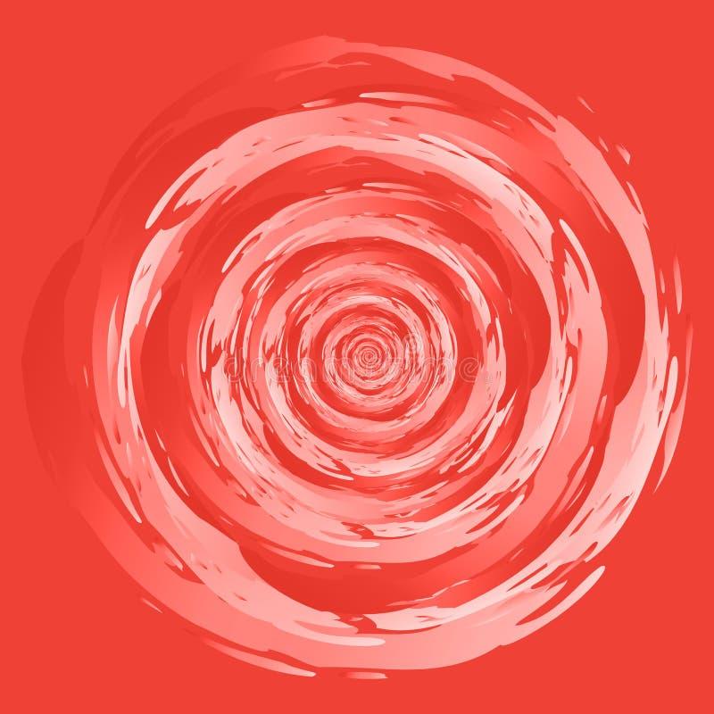 Germoglio astratto di turbinio royalty illustrazione gratis