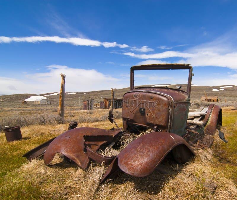 Geroeste Antieke Vrachtwagen royalty-vrije stock afbeelding