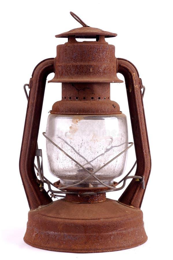 Geroeste lantaarn royalty-vrije stock afbeeldingen