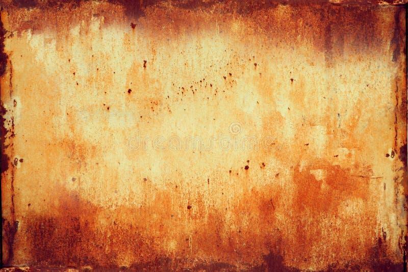 Geroeste Textuur 1 van het Metaal royalty-vrije stock foto's