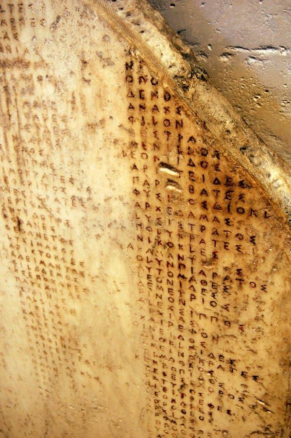 Geroglifici antichi immagine stock