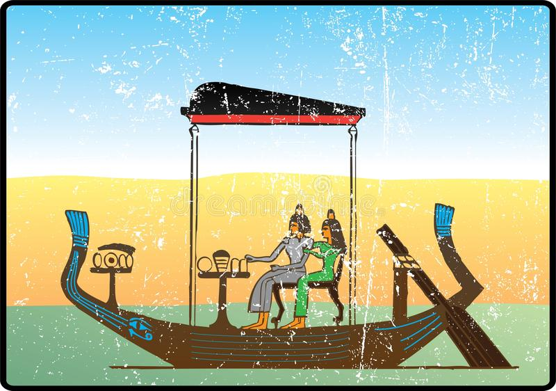 Geroglifici egiziani - 15 royalty illustrazione gratis