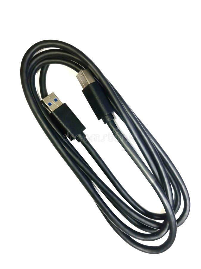 Gerold van de Externe aandrijving van USB stock afbeelding