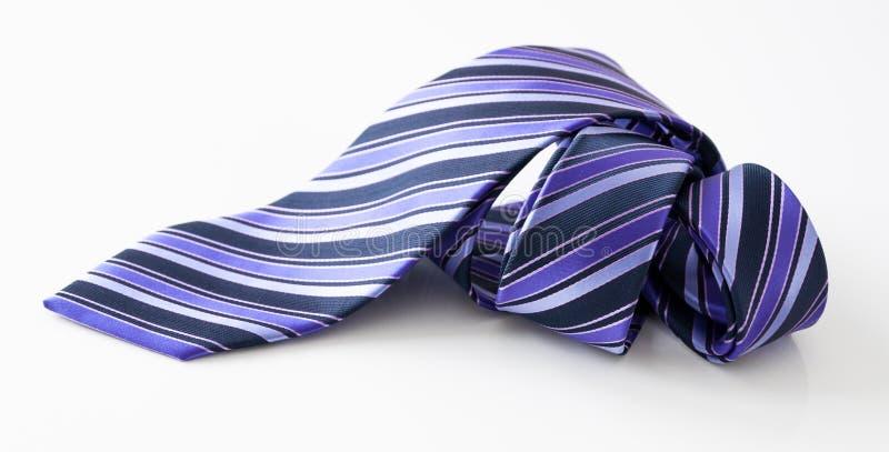 Gerolde stropdas royalty-vrije stock afbeelding