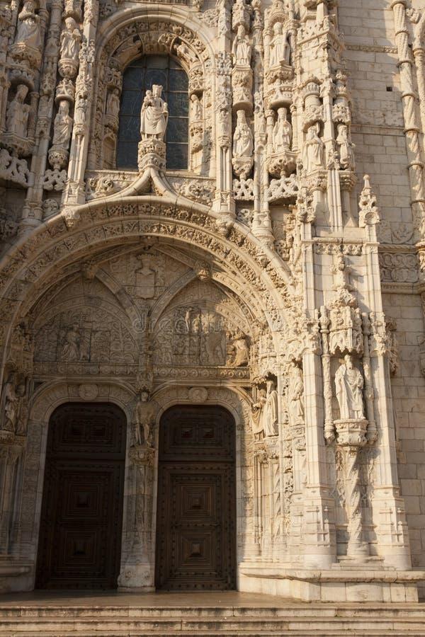 Geronimos Kloster stockbilder