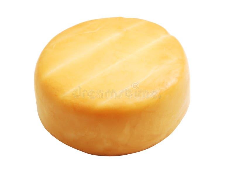 Gerookte kaas stock afbeelding