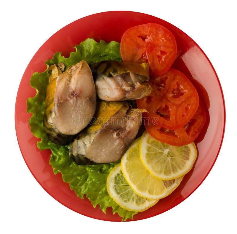Download Gerookte Makreel Op Een Plaat Stock Foto - Afbeelding bestaande uit niemand, vers: 114227132