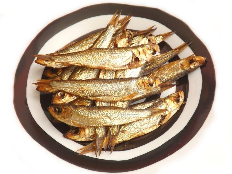 Gerookte vissen royalty-vrije stock foto's