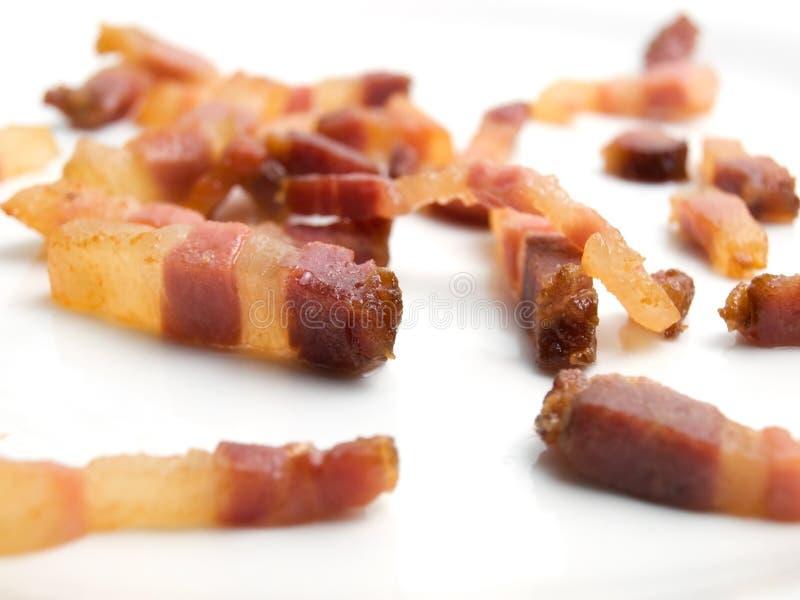 Geroosterd bacon stock afbeelding