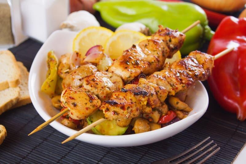 Geroosterd kippenvlees stock afbeeldingen