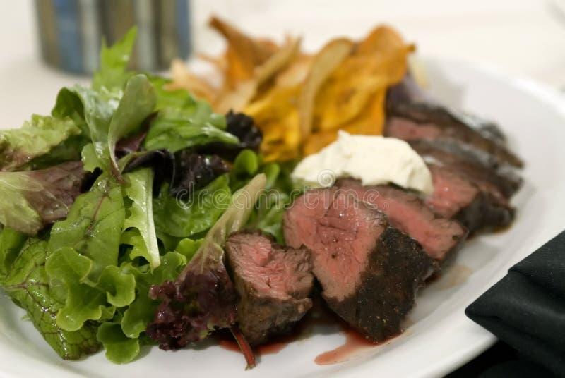 Geroosterd roklapje vlees stock afbeelding