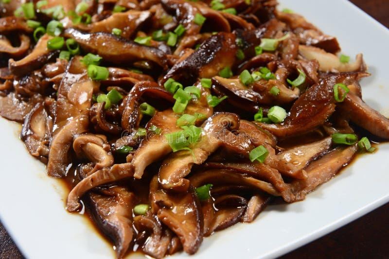 Geroosterd shiitake stock fotografie