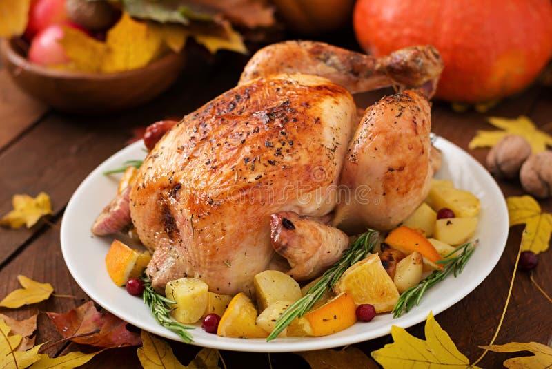 Geroosterd Turkije Thanksgiving day stock afbeeldingen